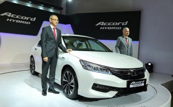 Honda Accord Hybrid Launched in India 1