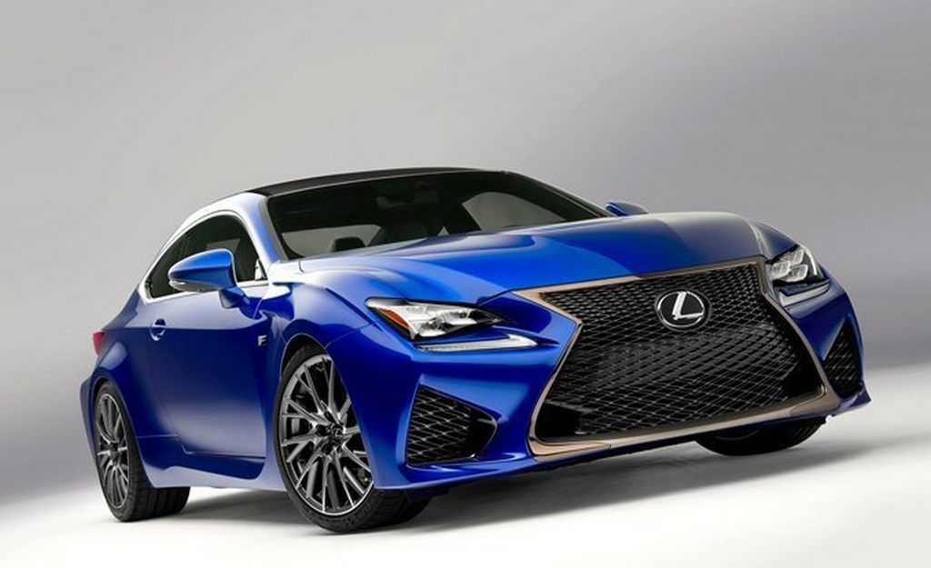Lexus RC-F India 1