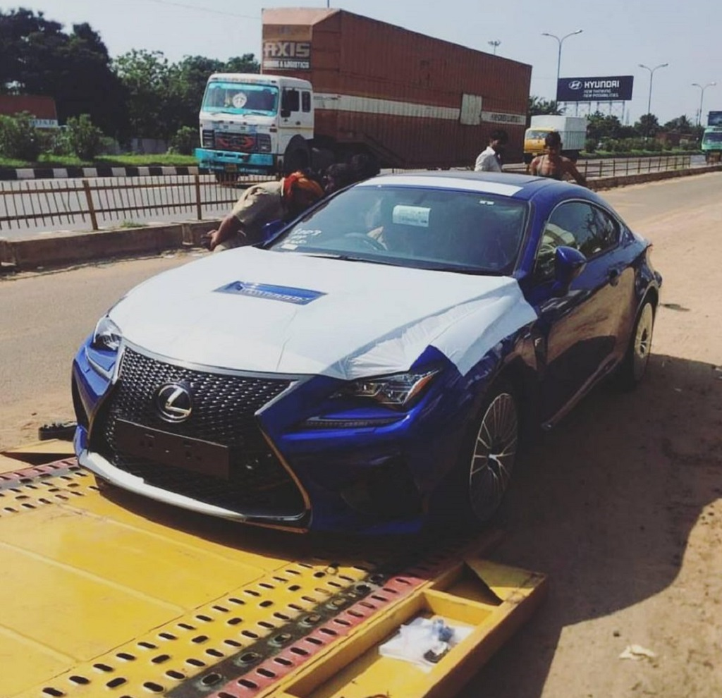 Lexus-RC-F-India