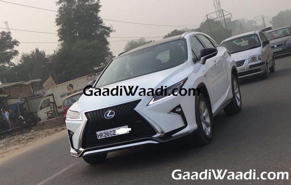 Lexus RX450 h india 1