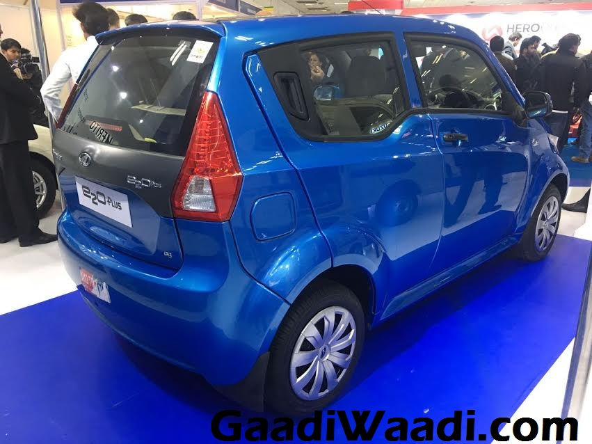 Mahindra e2o Plus 2017 Green Mobility Expo Delhi 1