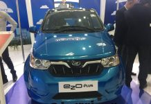 Mahindra e2o Plus 2017 Green Mobility Expo Delhi 2