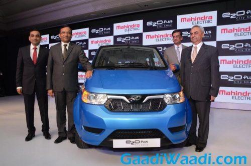 Mahindra e2o Plus launched in India