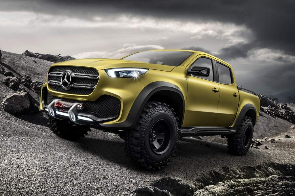 Stylish Mercedes Benz X Class Pickup Truck Revealed