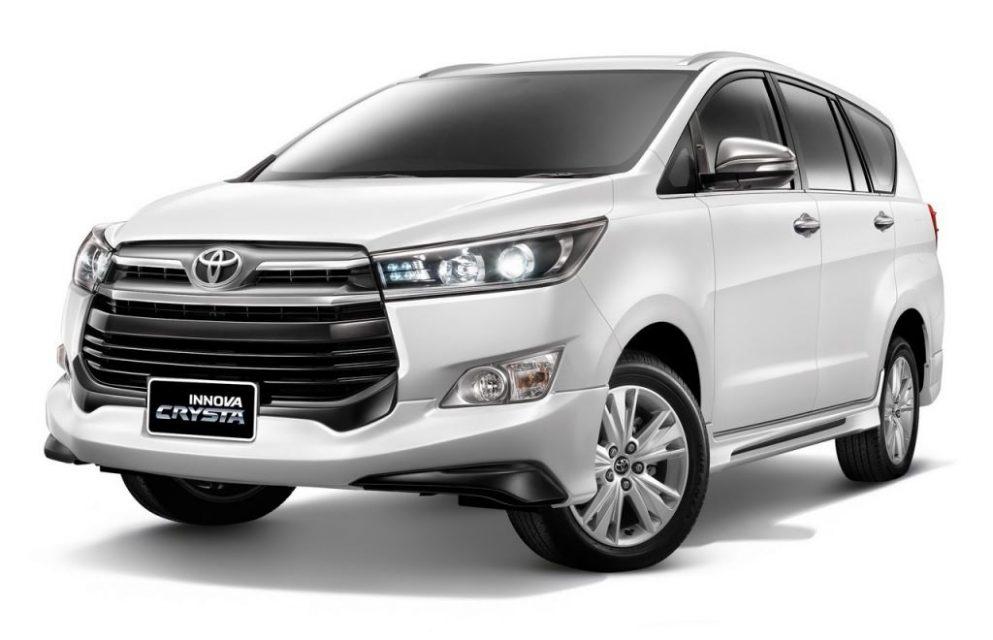 Toyota Innova Crysta bodykit