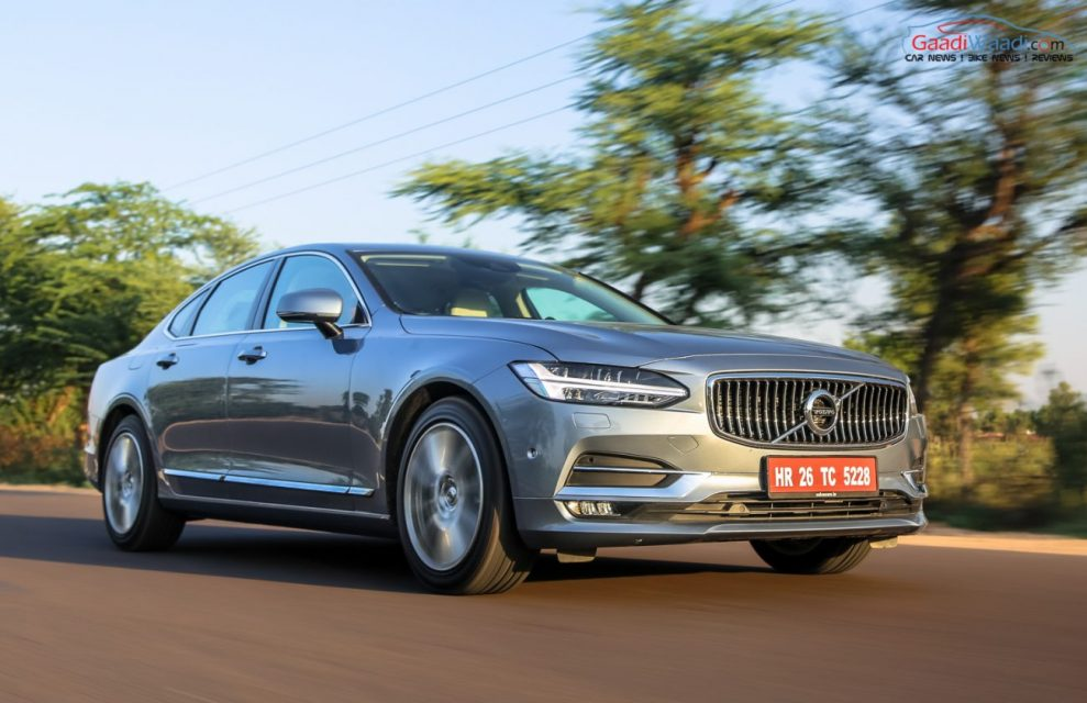 Volvo S90 TEST DRIVE REVIEW INDIA-18