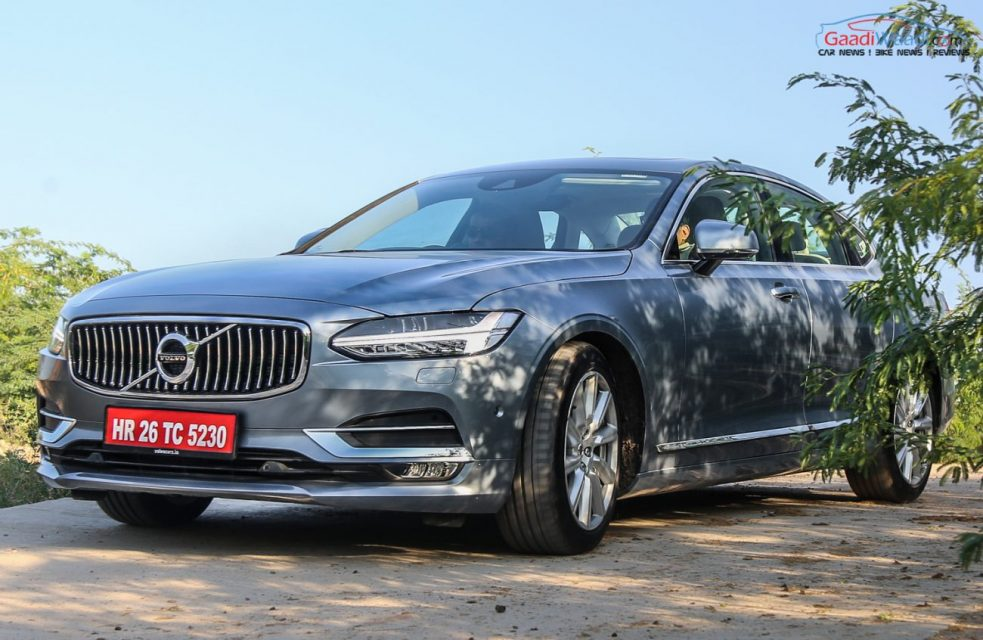 Volvo S90 TEST DRIVE REVIEW INDIA-3