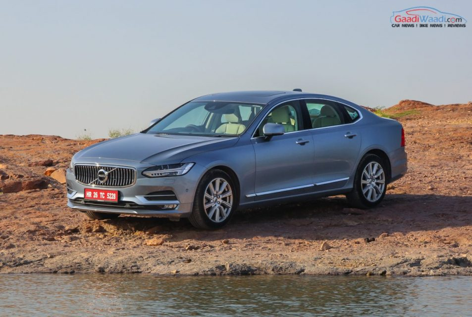 Volvo S90 TEST DRIVE REVIEW INDIA-42