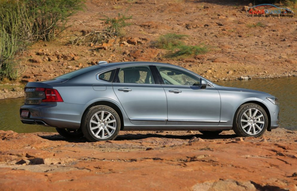 Volvo S90 TEST DRIVE REVIEW INDIA-55