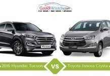 2016 hyundai tucson vs innova crysta comparsion8
