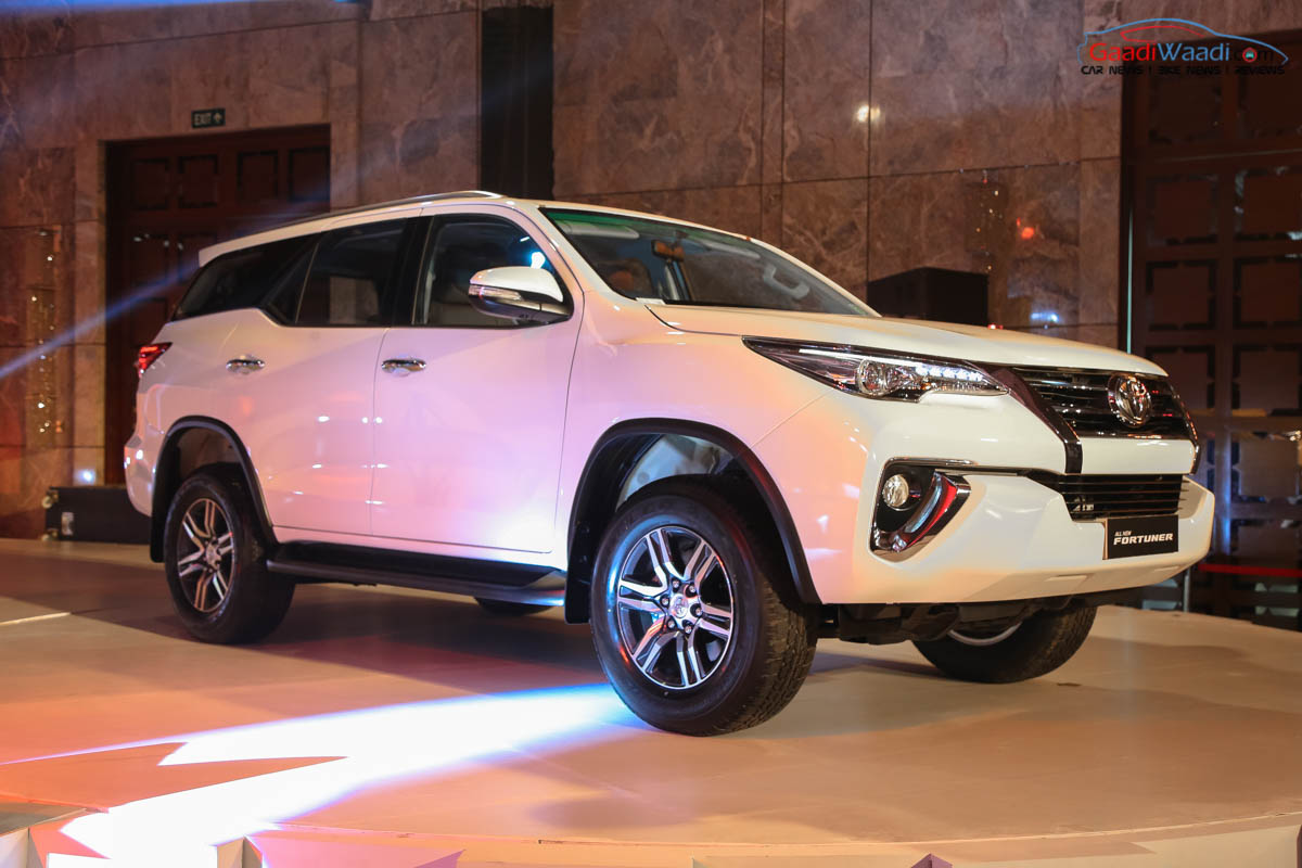 new toyota fortuner india price  specs  pics  mileage