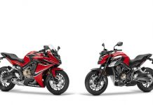 2017 Honda CBR650F and CB650F EICMA