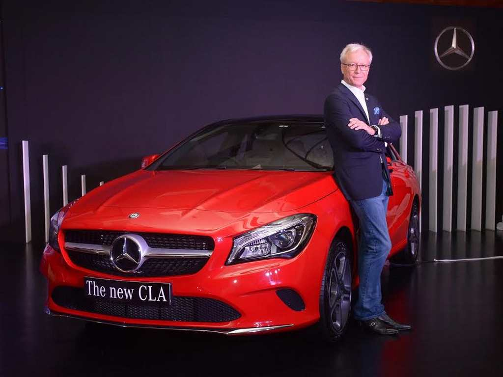 2017 Mercedes-Benz CLA Facelift India 2