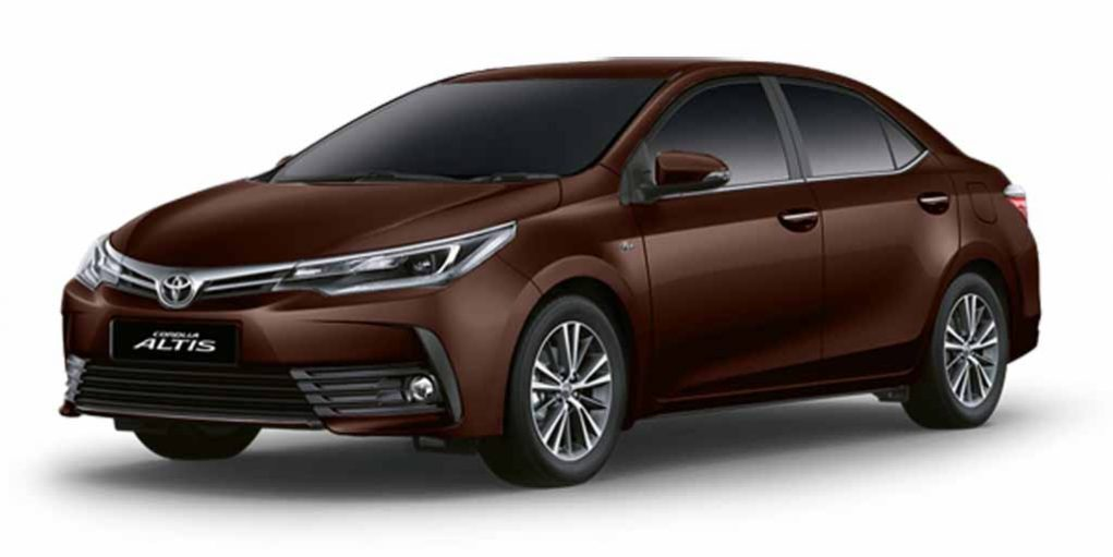 2017 Toyota Corolla Altis Facelift Launched
