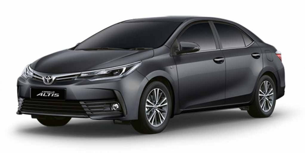 2017 toyota corolla altis facelift launched price. Black Bedroom Furniture Sets. Home Design Ideas