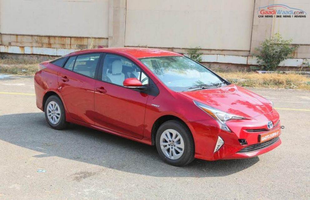 2017 Toyota Prius Prime India Launch 12