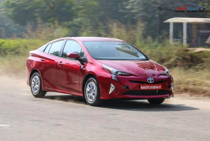 2017 Toyota Prius Prime India Launch 24 (technology companies new rival for toyota)
