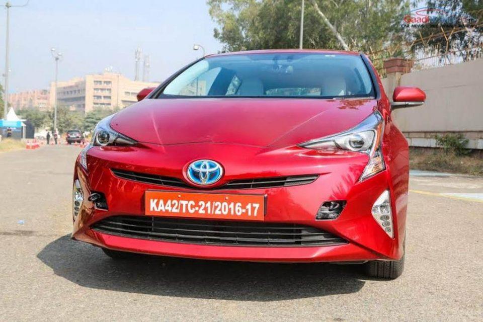 2017 Toyota Prius Prime India Launch 9
