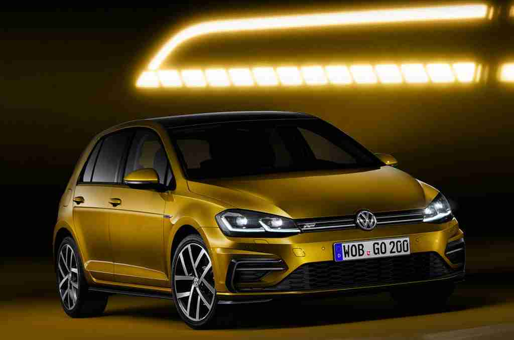 2017 Volkswagen Golf Facelift Revealed - Gaadiwaadi.com - Car News, Bike News, Reviews