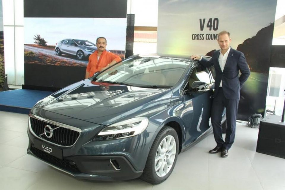 2017 Volvo V40 Cross Country India Launch