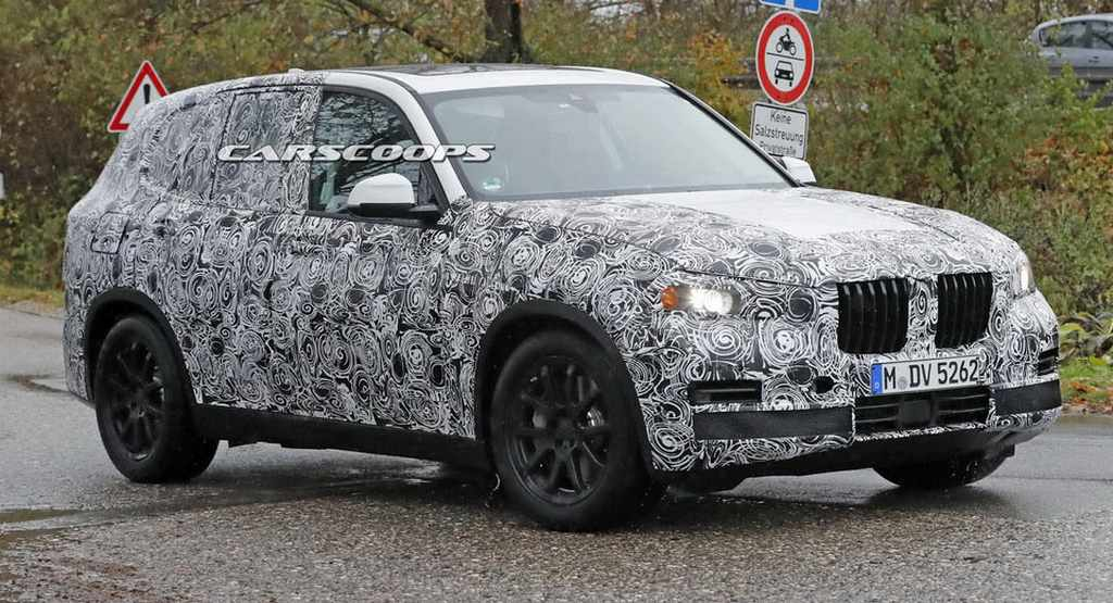 Production Spec 2018 Bmw X5 Suv Spied Testing Gaadiwaadi