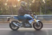 BMW G310R India Spied