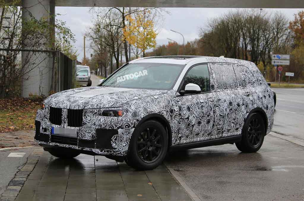 Bmw X7 Flagship Suv Spied Testing For First Time