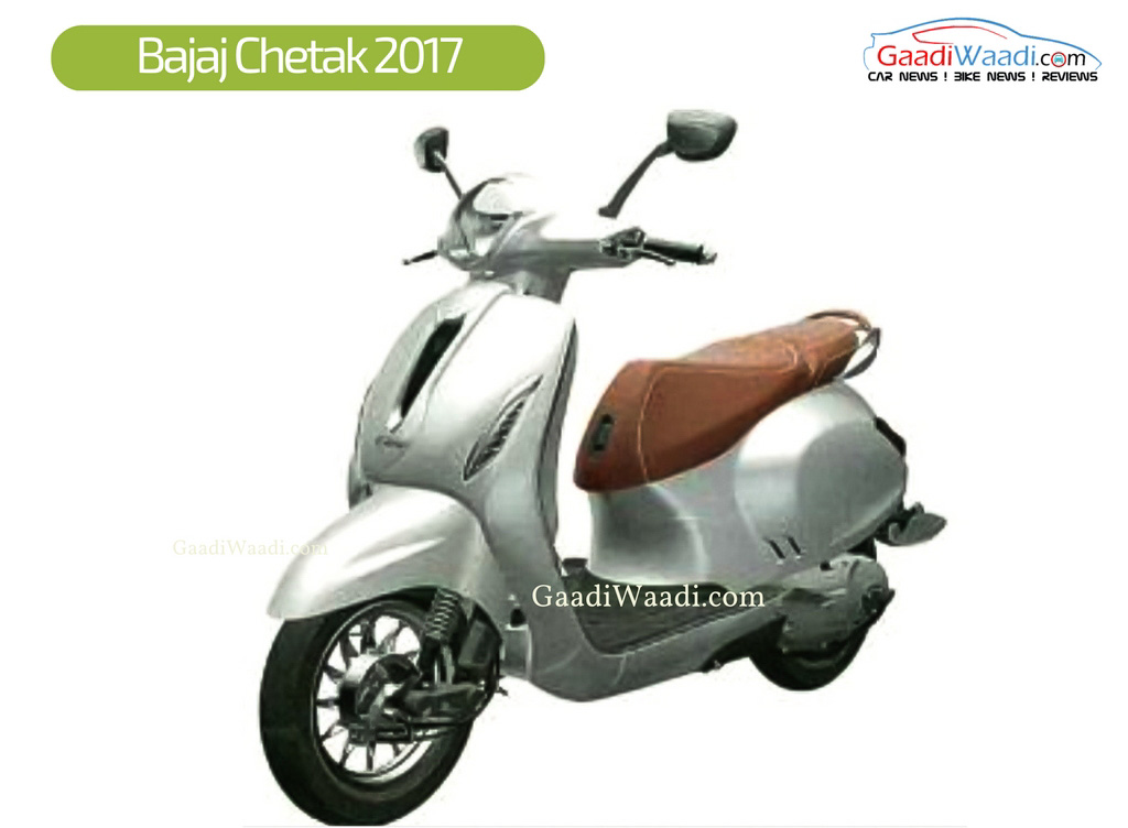 Bajaj Chetak 2017 Launch Photos 2