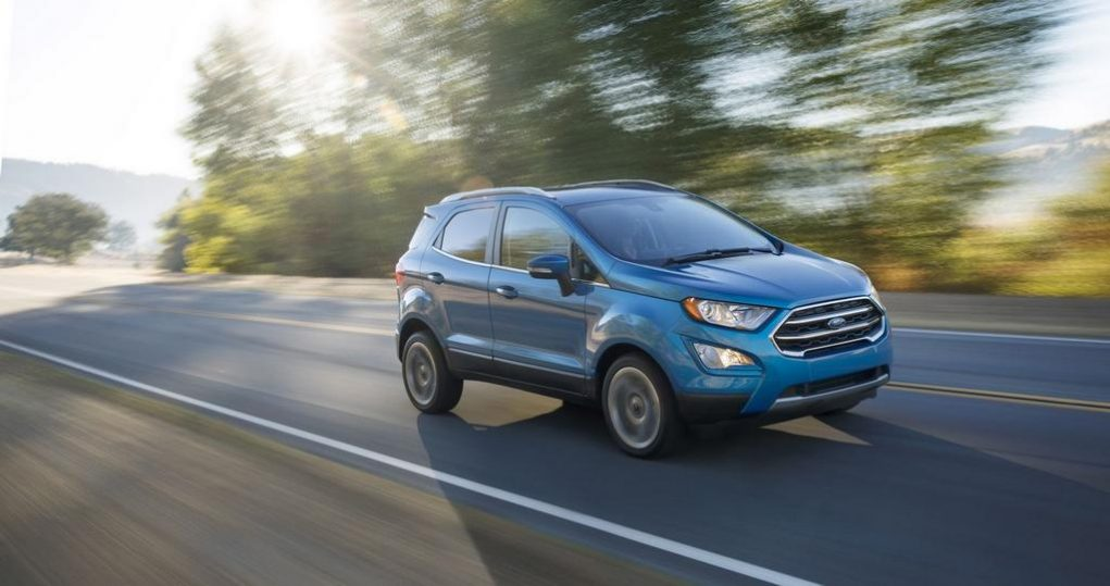 Ford EcoSport Facelift India 1
