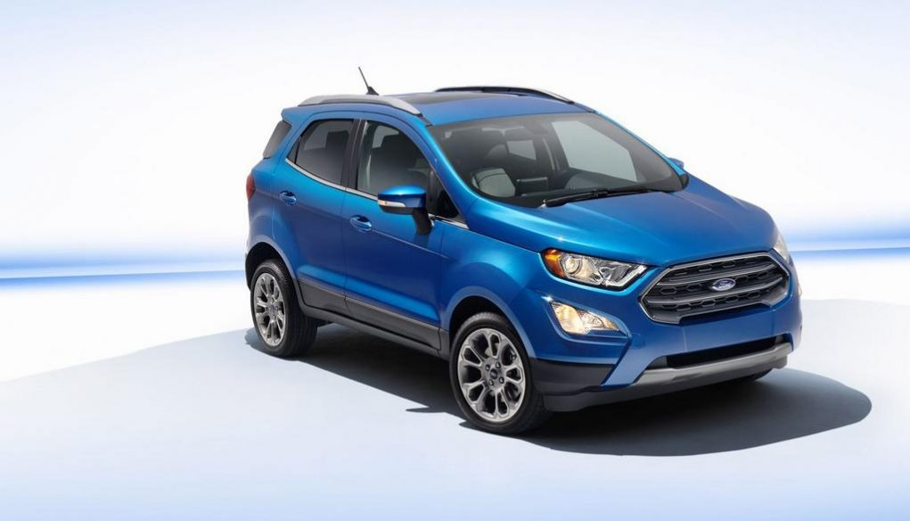 Ford EcoSport Facelift India 5