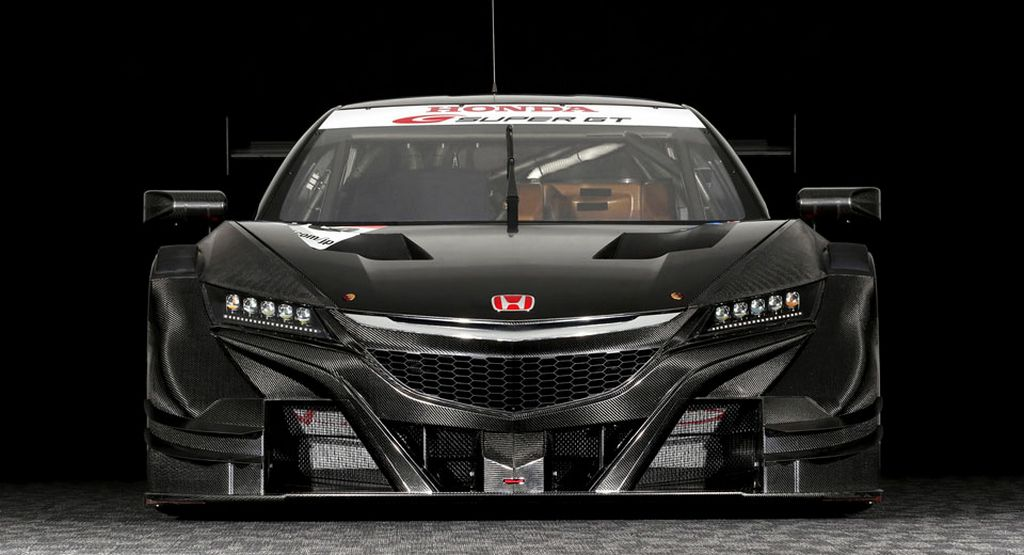 Mighty 600 HP Honda NSX-GT Race Car Breaks Cover
