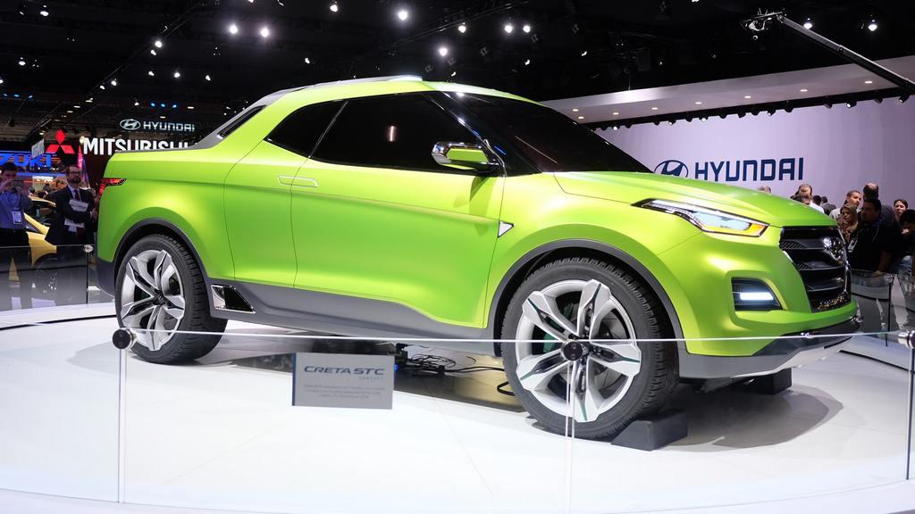 hyundai creta pickup concept breaks cover in brazil car news bike news reviews. Black Bedroom Furniture Sets. Home Design Ideas