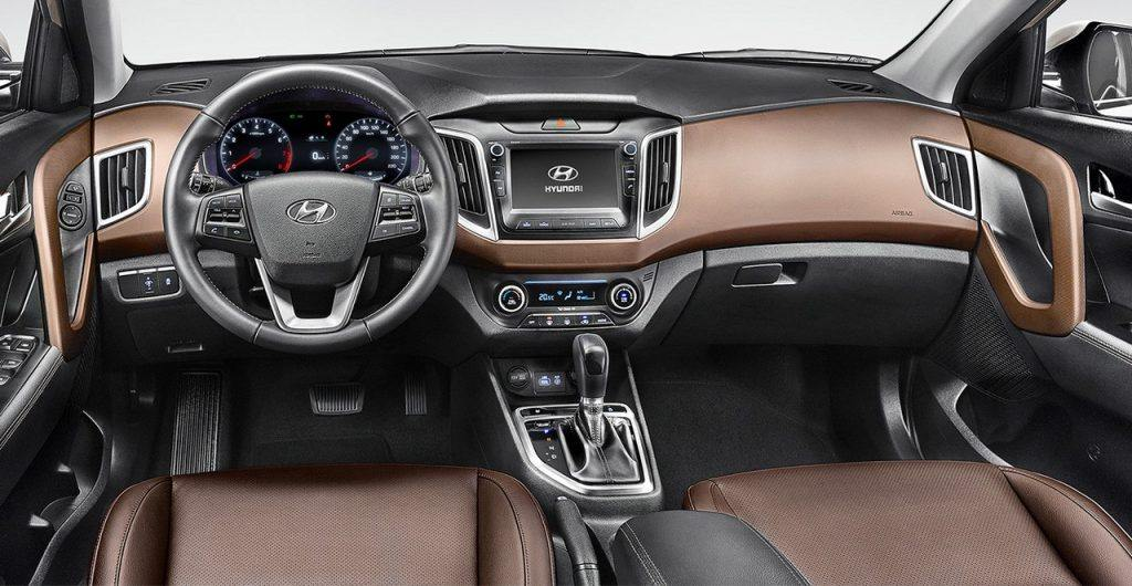 2018 hyundai creta interior. plain interior emphasising safety now the creta is offered with abs and ebd as standard  while mid variants get dual front airbags side curtain airbags  for 2018 hyundai creta interior 0