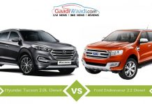 Hyundai tucson vs ford endeavour 2016 comparison5