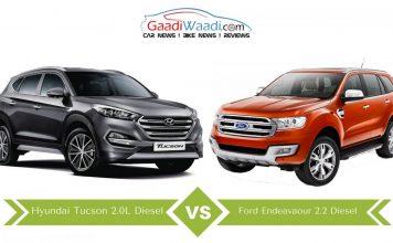 Hyundai tucson vs ford endeavour 2016 comparison5