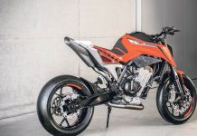 KTM 790 Duke prototype 1