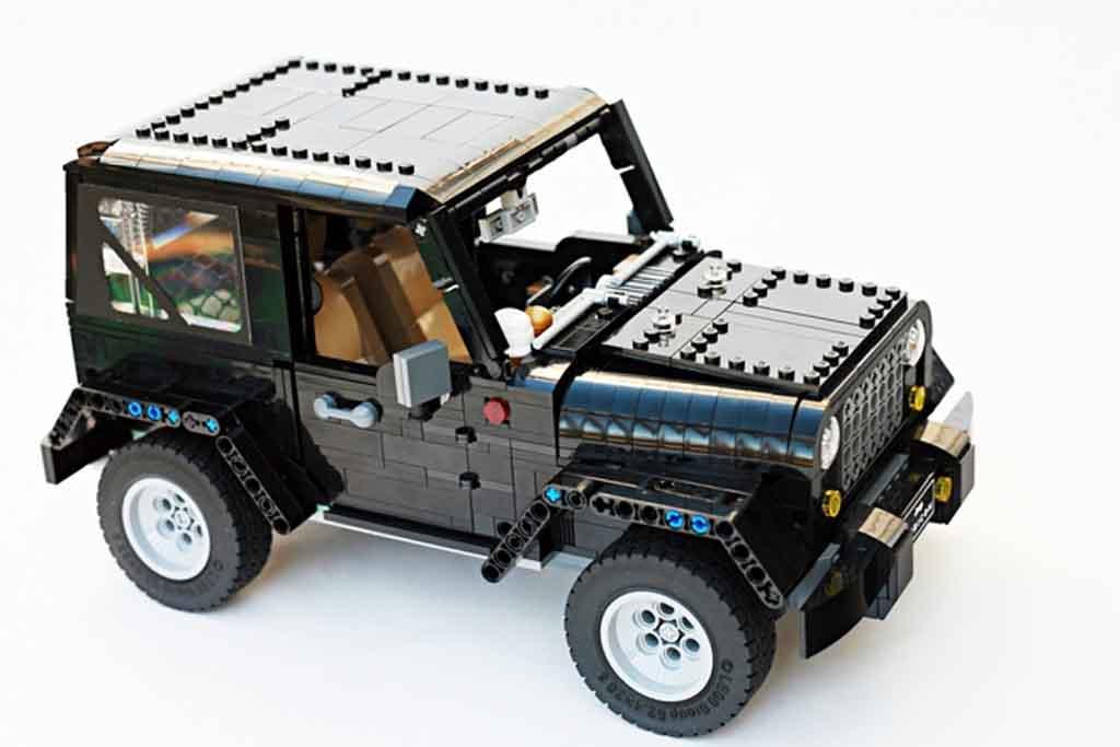 Jeep Wrangler Soft Top >> Lego Jeep Wrangler Rubicon Looks a Showroom-Worthy Project