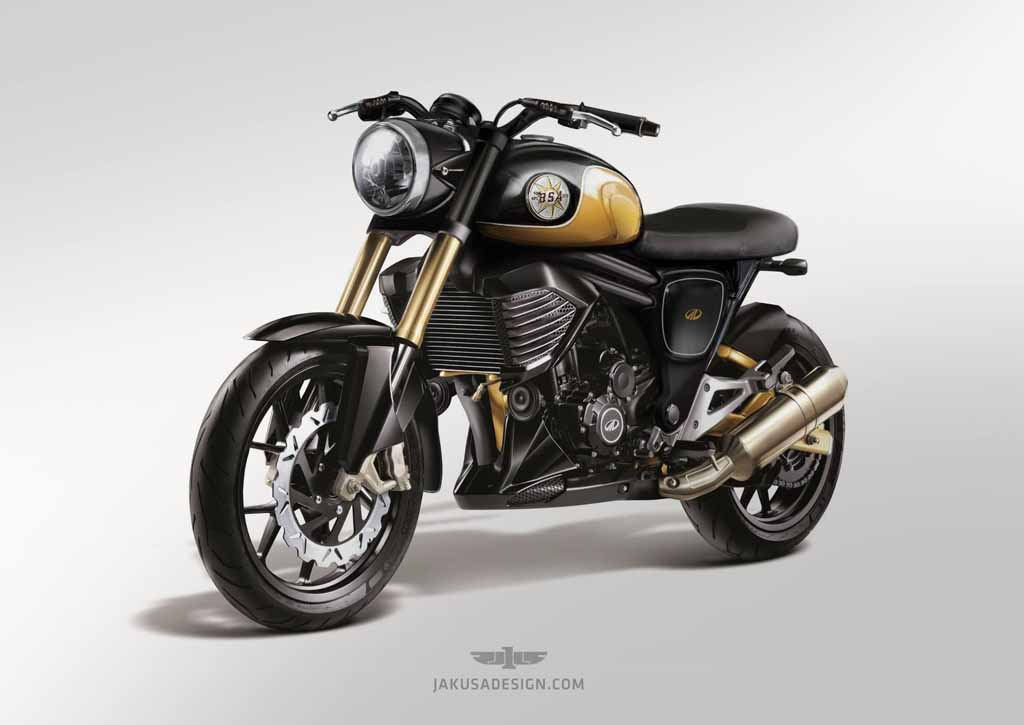 Mahindra Mojo Rendered With Inspiration From Bsa Motorcycles