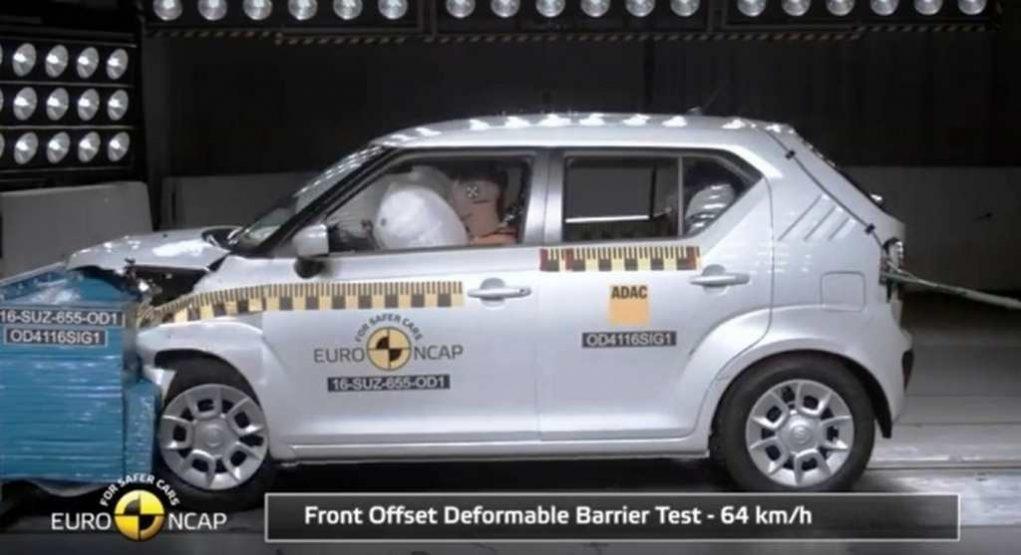 Maruti Suzuki Ignis Euro NCAP five star safety rating