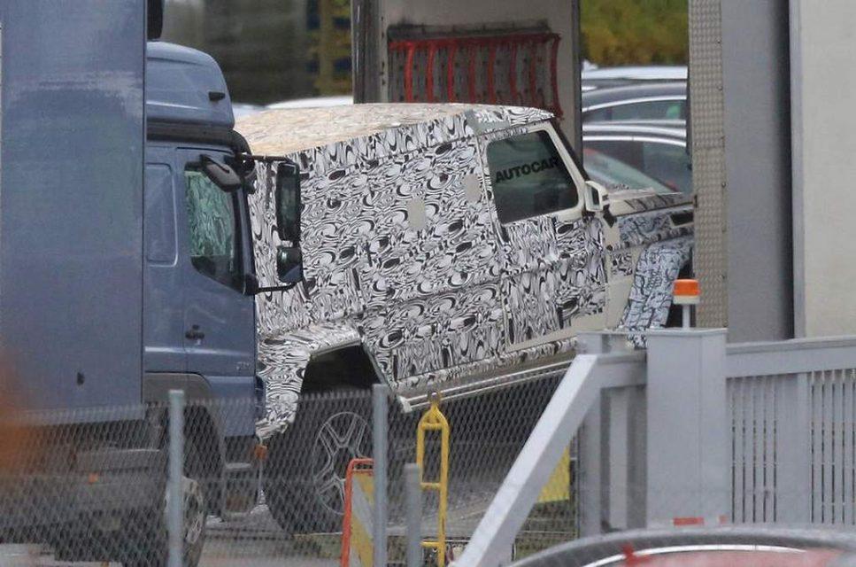 Mercedes G-Class Pickup 1