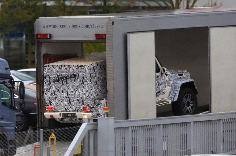 Mercedes G-Class Pickup 3
