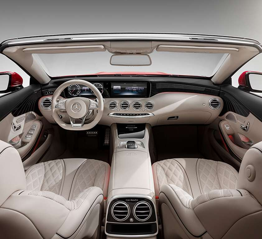 Luxurious Mercedes Maybach S650 Cabriolet Limited Edition