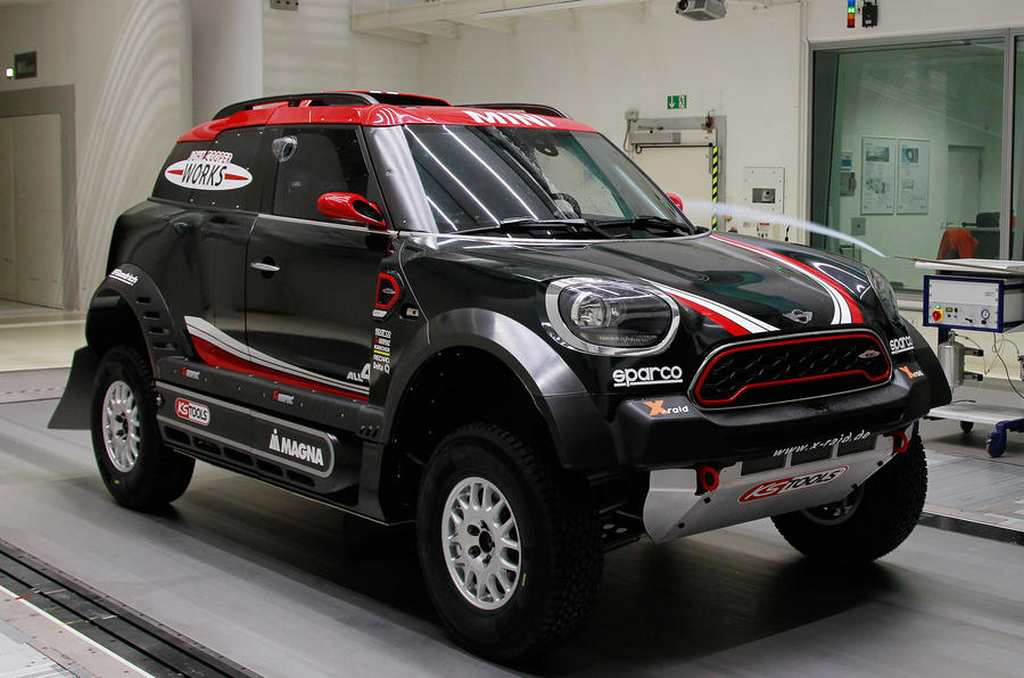 Mg Auto Sales >> Mini John Cooper Works Rally Racer Unveiled; Boasts 340 Horsepower