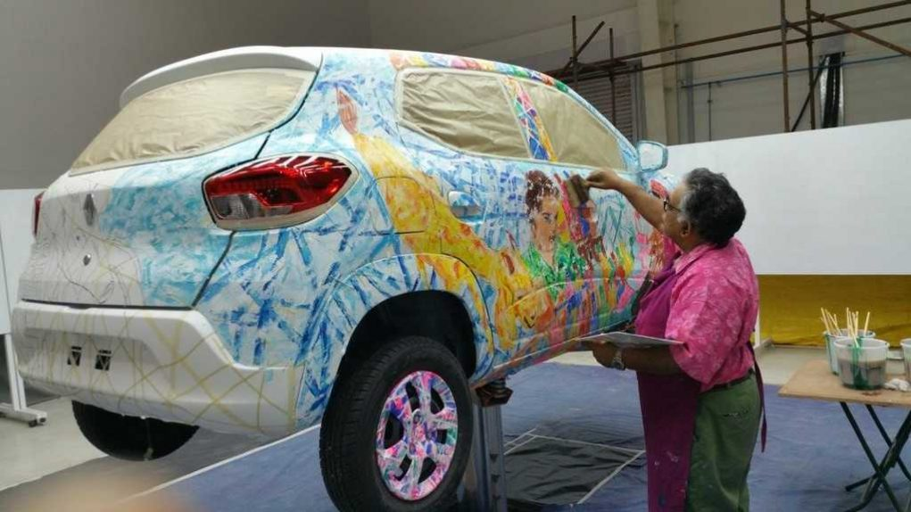 Renault Kwid Art Car 3