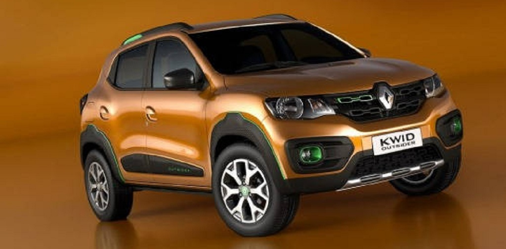 renault to unveil kwid based small suv at 2018 auto expo. Black Bedroom Furniture Sets. Home Design Ideas