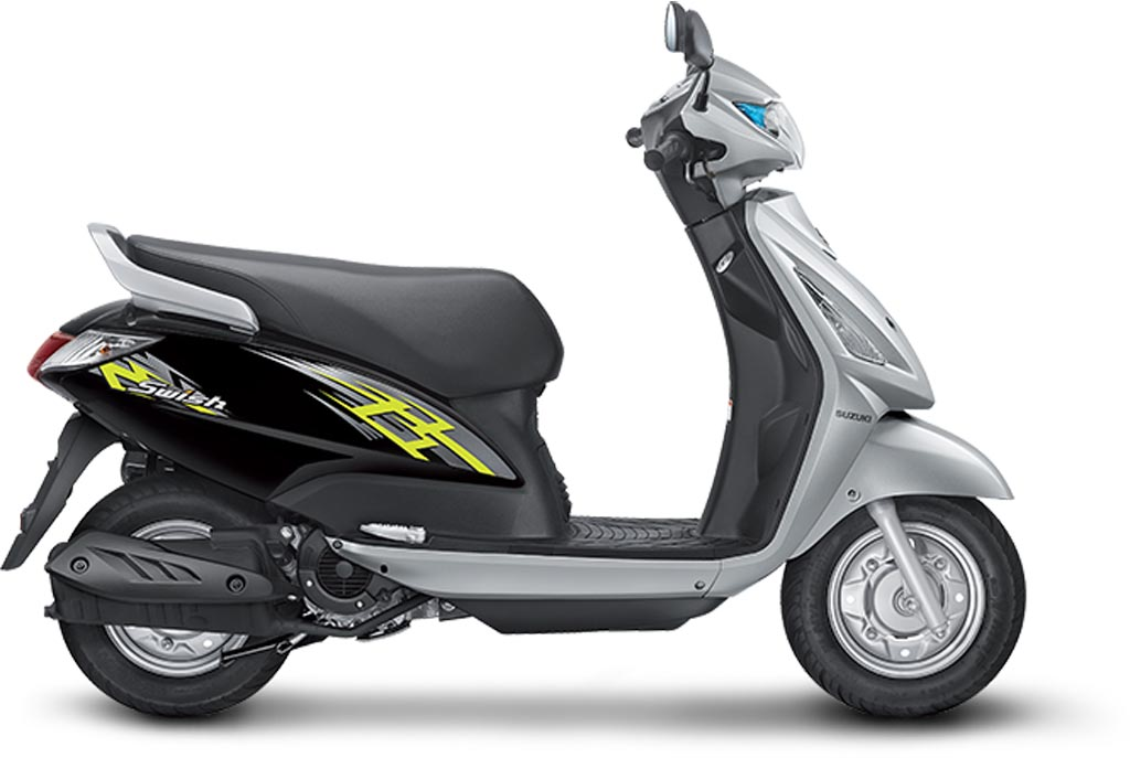 suzuki swish 125 scooter production halted due to poor sales. Black Bedroom Furniture Sets. Home Design Ideas
