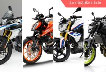Upcoming bikes in India 2017