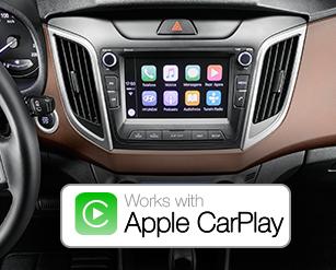 hyundai creta apple car play