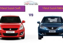 maruti swift vs maruti baleno1