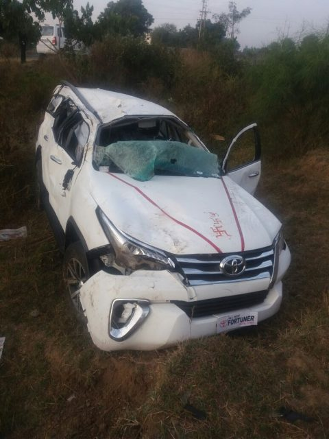 new 2016 toyota fortuner accident 2